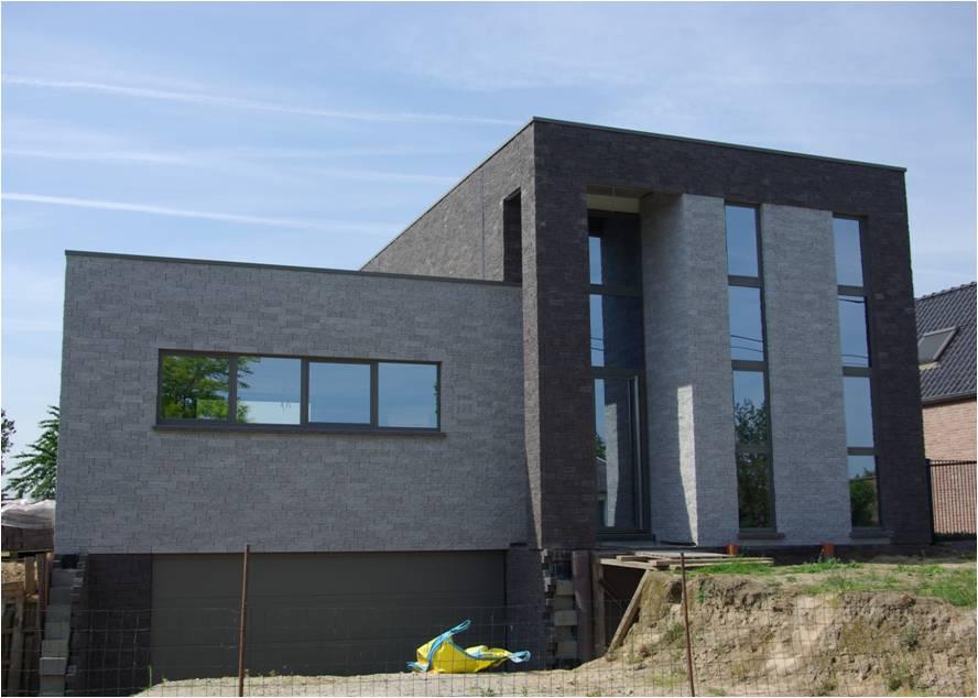 Architecten claes vanoppen passiefwoningen nulenergie architect kermt architect hasselt - Zie in het moderne huis ...