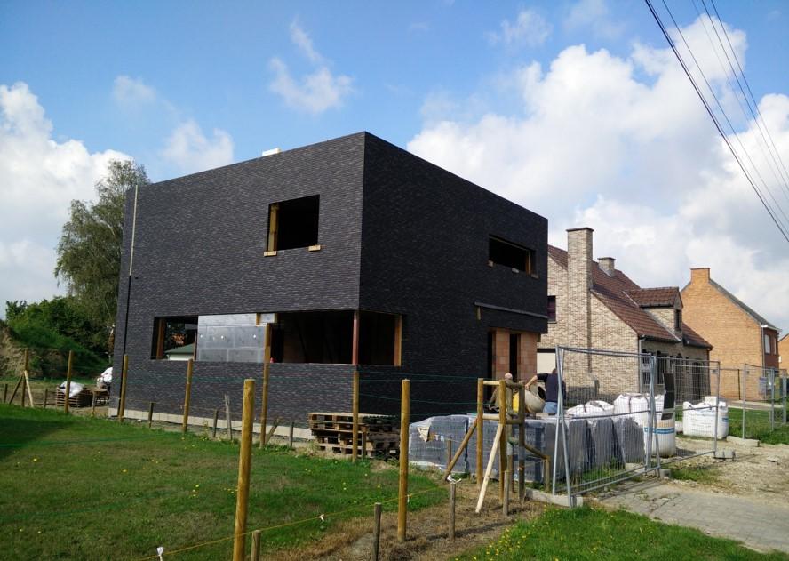 Architecten claes vanoppen passiefwoningen nulenergie for Hedendaagse architecten