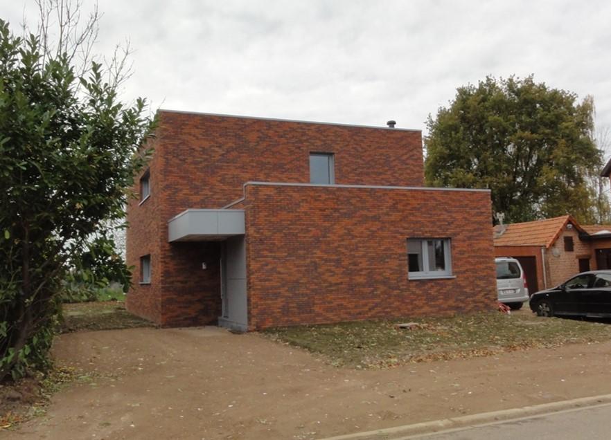 Architecten claes vanoppen passiefwoningen nulenergie architect kermt architect hasselt - Zeer moderne woning ...